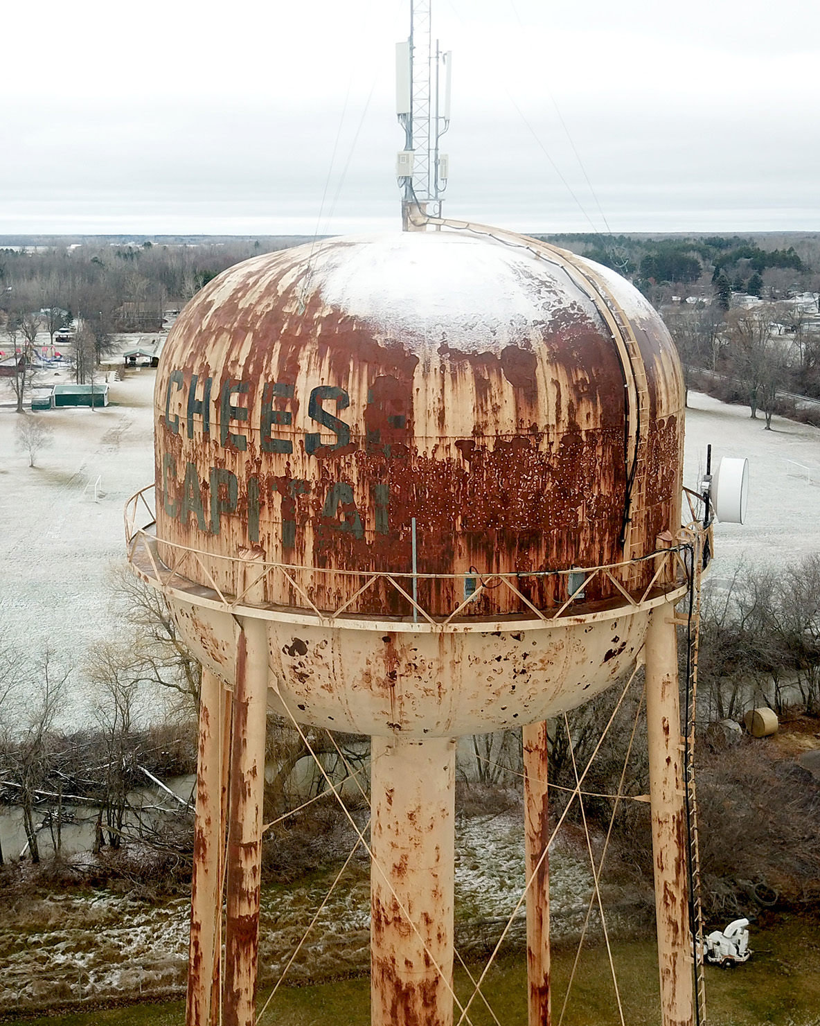 Cheese Capital Water Tower