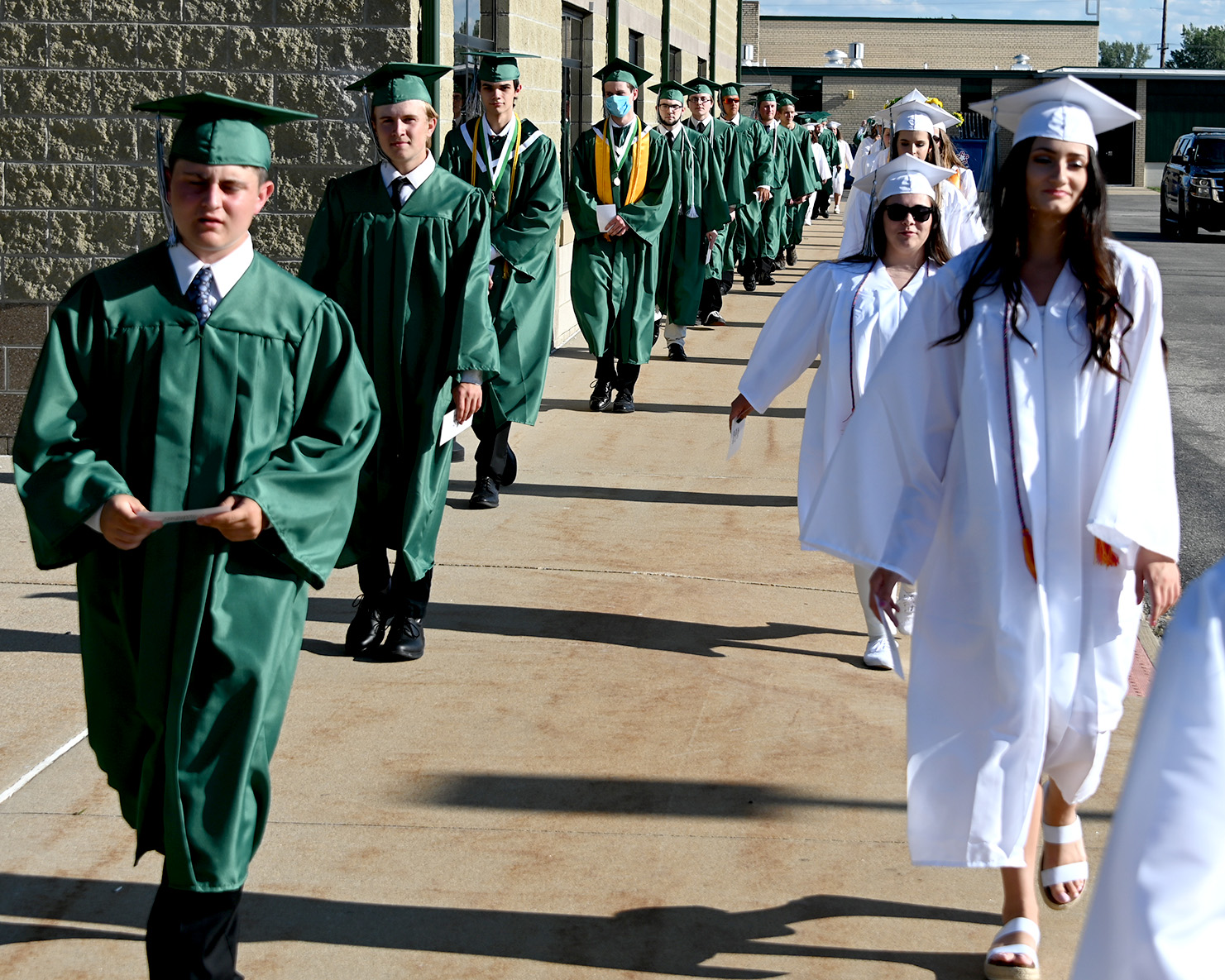 Entrance Procession of Students