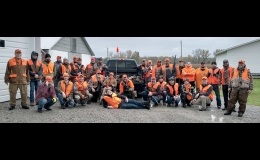 There were a lot of happy hunters last Saturday at Country Estate Farm for the 31st annual pheasant hunt. After the hunt there was a wild game dinner and skeet shoot that lasted the rest of the day.                                                                                                                                                                                                   --Courtesy Photo