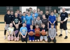 Coach Jamie and Coach Ryan held a basketball Player Development camp on Feb 1st at Pinconning High Sschool.