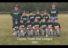 1997 Crump Youth Bobcats Ball Team