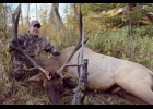 Jeremy and Don Michalski participated in the September Elk hunt in North Alberta Canada.  Don and Jeremy are each pictured with the 6 X 6 Elk that Jeremy shot during the hunt in the rugged North Alberta woods.               --Courtesy Photos