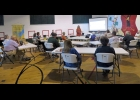 Rotary Club members meeting at the Pinconning Community Center are updated on plans for the Pinconning Dog Park.                                   --Courtesy Photo
