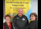 2020 NATURE FESTIVAL SUPPORTERS, Diane Morley, Forward Corp., Marty Hornacek and Tina Sullivan, Northwoods Wholesale Outlet, (LtoR) have committed to supporting activities of the 2020 Nature Festival.   --Courtesy Photo
