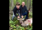 Dayne Ivey shot this 4 pt. buck on opening morning of the Youth Hunt while hunting with his dad Jim.                                        --Courtesy Photo