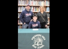 KADE COMPEAU, with parents Greg and Melissa, recently signed a National Letter of Intent to play baseball with the Bryant & Stratton Bobcats in Cleveland, Ohio.  --Journal Photo by Kayla Dybas