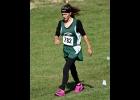 SAMANTHA BILLS (shown earlier this season) of the Spartan Cross Country Team.                    --Journal Photo