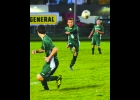 TEDDY SHARK (#5) sends the ball forward during Monday's Senior Night game against Capac. The Spartans lost 1-0.            --Journal Photo by Rachel Floyd