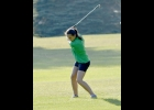 TORI SHARK (above) carded a 41 on the front 9 and a 47 on the back 9 at Green Hills last Friday to record the 11th lowest score in the 24 year history of the Bay County Girls Golf  Tournament and claim top individual honors while leading the 4-player team to 2nd Place in the Team competition.                       			  --Journal Photo                 by Rachel Floyd